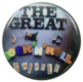 Sex Pistols - 'Rock 'n' Roll Swindle' Button Badge